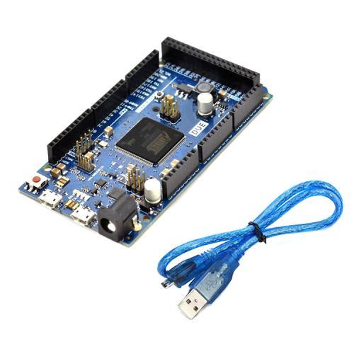 Arduino DUE CORTEX M3 ATMEL SAM3X8E CON CABLE USB