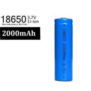 BATERIA 3.7V LI-ION 2000MAH 18650 RECARGABLE
