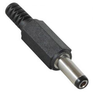 CONECTOR PLUG DC MACHO 2.1MM