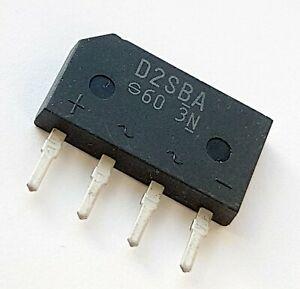 DIODO RECTIFICADOR D2SBA60 2A 600V