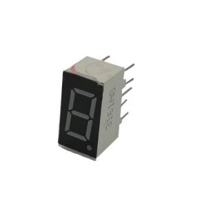 DISPLAY LED NUM 1 DIGITO 15MM ROJO SA1176