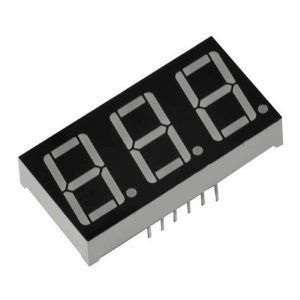 DISPLAY LED NUM 3 DIGITOS 30MMX16MM