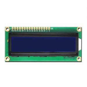 LCD DISPLAY 16X02 AZUL