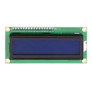 LCD DISPLAY 16X02 AZUL I2C