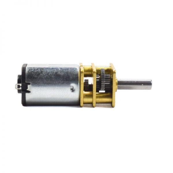 METAL MICRO MOTOR N20 DV12V POLOLU 600RPM 1:50