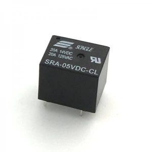 MINI RELE DE 5V 20A SONGLE SRA-5VDC-CL