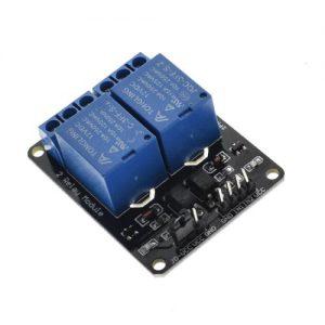 Modulo Rele 12V 2 Canales Con Optoacoplador