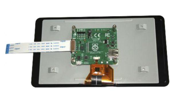 PANTALLA TACTIL CAPACITIVA RASPBERRY PI LCD TOUCH SCREEN DE 7 PULGADAS