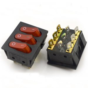 SWITCH TRIPLE ON-OFF 9 PIN 15A 250V
