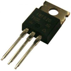 TRANSISTOR MOSFET IRF620 200V 9A NPN