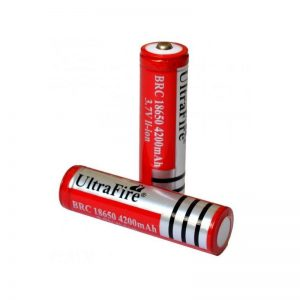 BATERIA ULTRAFIRE BRC 18650 3.7V LI-ION 4200MAH RECARGABLE